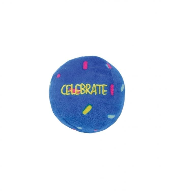 KONG OCCASIONS BIRTHDAY BALL 2-PACK Celebrate ball