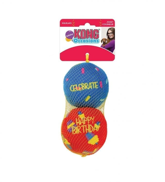 KONG OCCASIONS BIRTHDAY BALLS in packaging