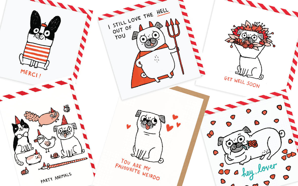 Greeting Cards for Dogs